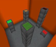 100-уровневая паркур-карта для Minecraft Bedrock Edition!