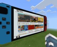 Работающая приставка Nintendo Switch в Minecraft!
