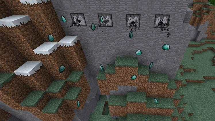 раздатчик в Minecraft Bedrock Edition для android