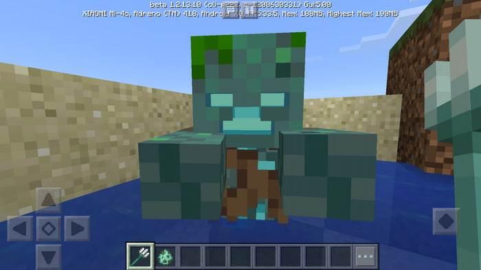Minecraft 1.2.13.10 Update Aquatic Bedrock