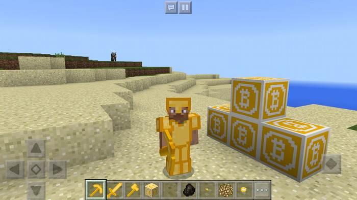 как майнить Bitcoin в Minecraft