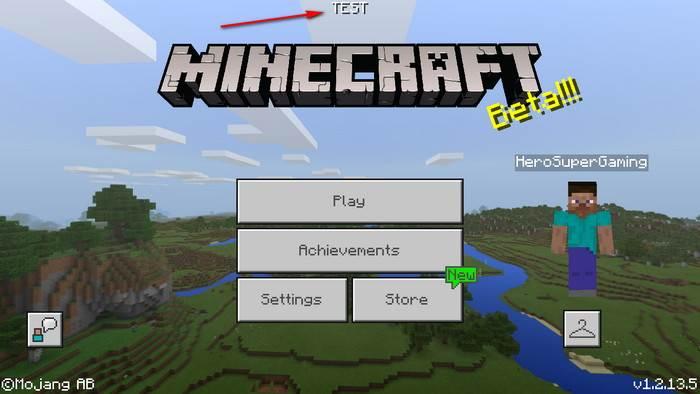 бета-версия Minecraft Bedrock
