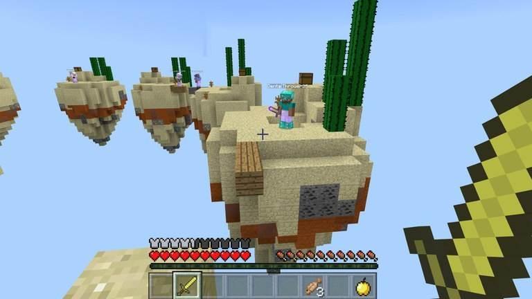 сервер CubeCraft для Minecraft