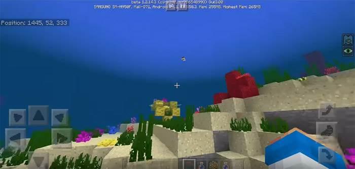 сиды для Minecraft Bedrock 1.3 Aquatic Update