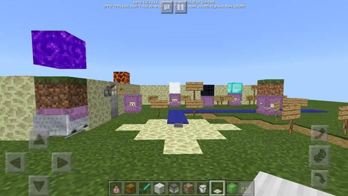 Секретные фишки Minecraft Bedrock