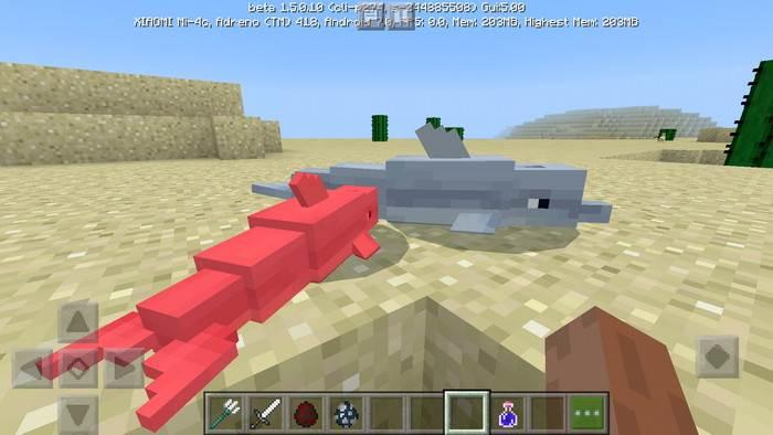 Пакет текстур Pixtail для Minecraft Bedrock Edition 1.4/1.5