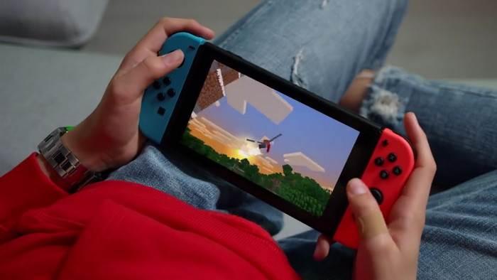 Minecraft Bedrock вышла на Nintendo Switch