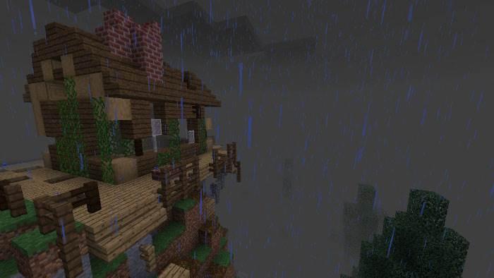 Карта The Rain для Minecraft 1.5