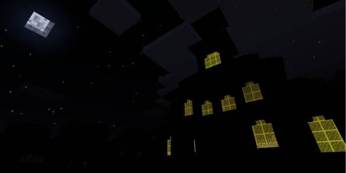 Карта Spooky's JumpScare Mansion для MCBE