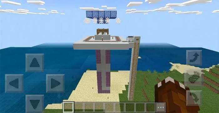 Ферма фантомов Minecraft PE
