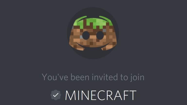 Дискорд-канал Minecraft