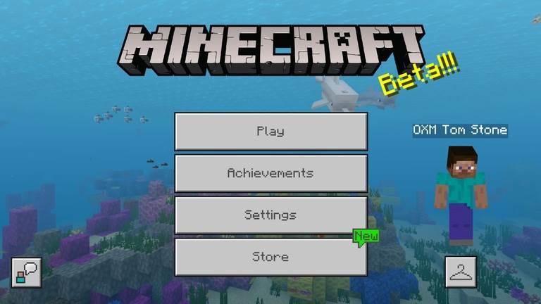 В Minecraft будет новое меню
