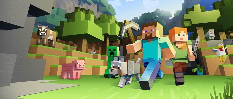 Новое меню в Minecraft