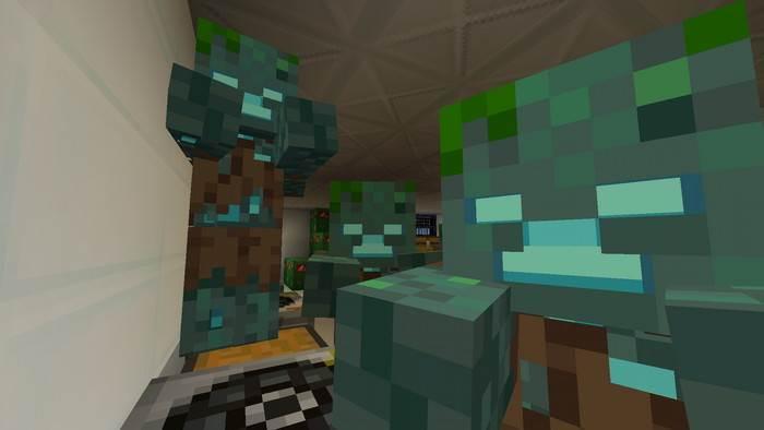 Карта Mutant Hunter для Minecraft Bedrock