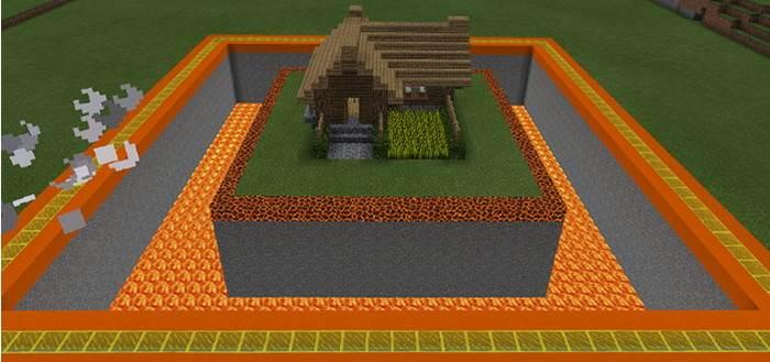 Самый безопасный дом в Майнкрафт