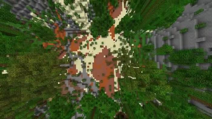 Карта Фортнайт для Майнкрафт ПЕ