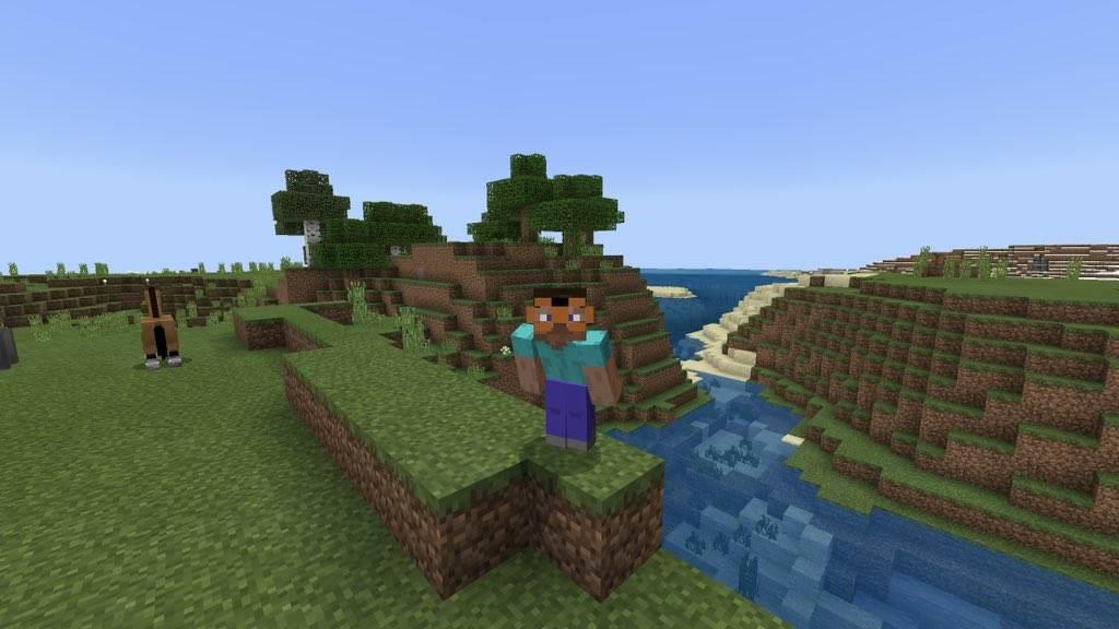 Очки в Minecraft Bedrock
