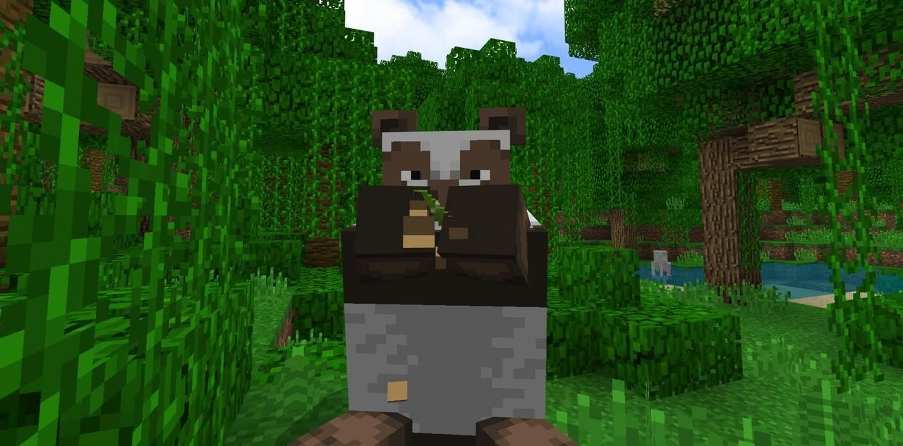 редкая панда